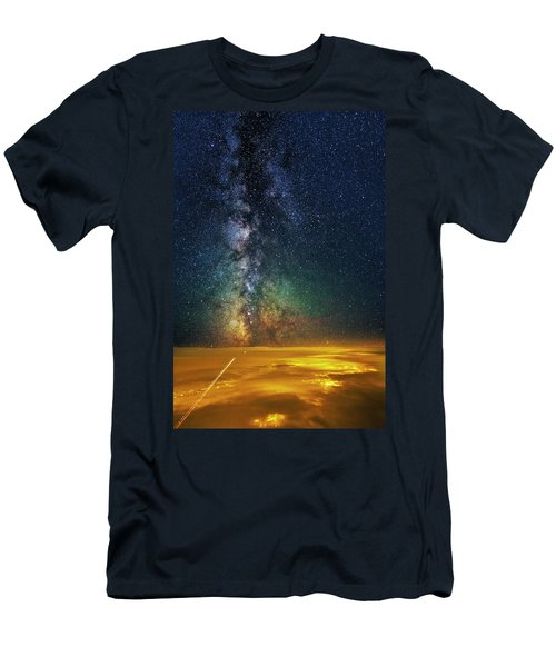 Towards The Core Men's T-Shirt (Athletic Fit)