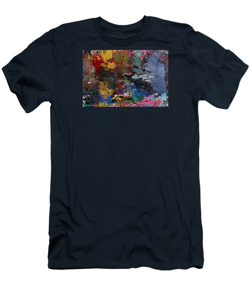 Tranquil Escape-1 Men's T-Shirt (Athletic Fit)