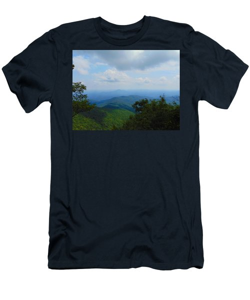 Tray Mountain Summit - North Men's T-Shirt (Athletic Fit)