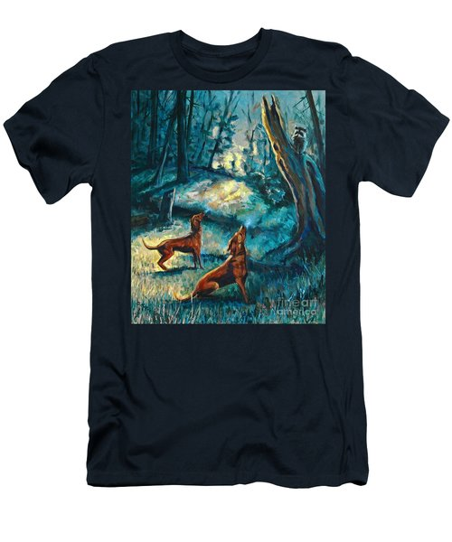 Treed At Dawn Men's T-Shirt (Slim Fit)