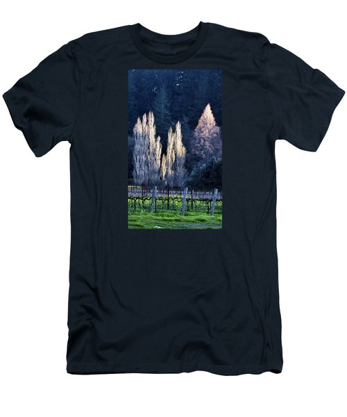 Trees In Fall Napa Valley Men's T-Shirt (Athletic Fit)