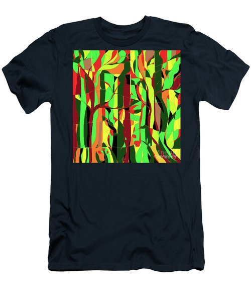 Trees In The Garden Men's T-Shirt (Athletic Fit)