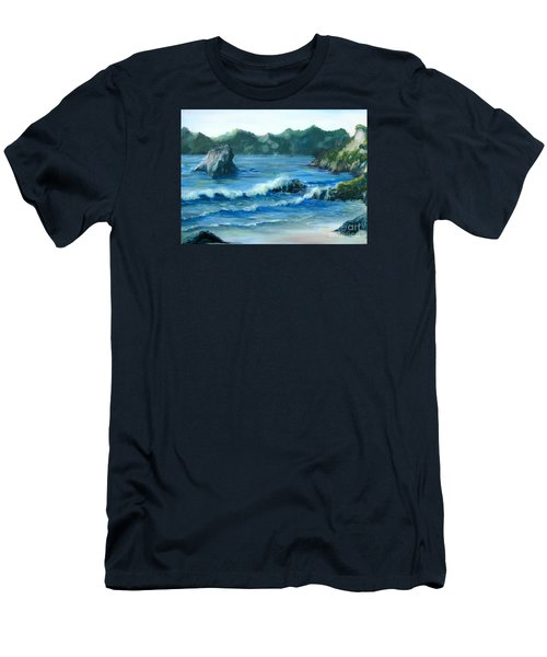 Trinidad Beach Men's T-Shirt (Athletic Fit)