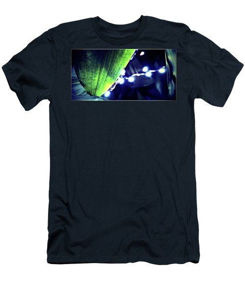 Men's T-Shirt (Slim Fit) featuring the digital art Tropical Night by Mindy Newman