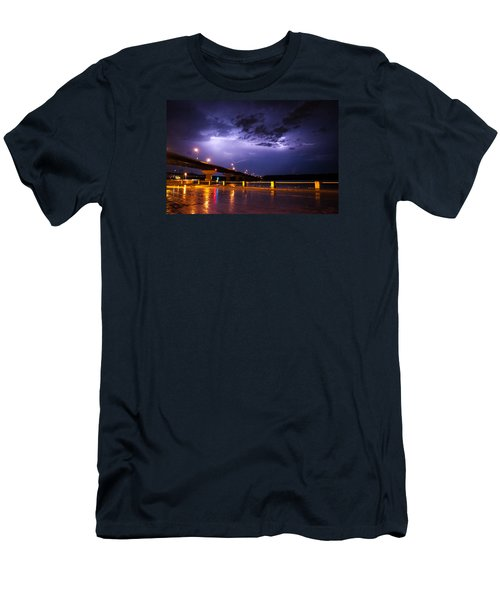 Troubled Skies Men's T-Shirt (Athletic Fit)