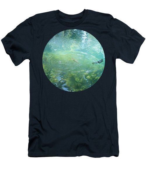 Trout Pond Men's T-Shirt (Athletic Fit)