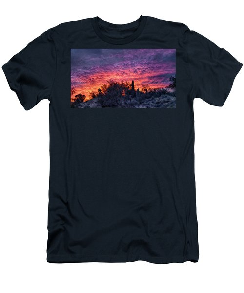 Tucson Sunrise Men's T-Shirt (Athletic Fit)