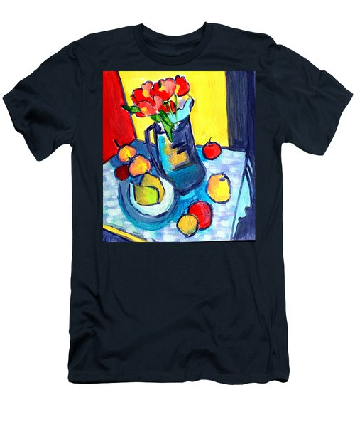 Tulip Still Life Men's T-Shirt (Athletic Fit)