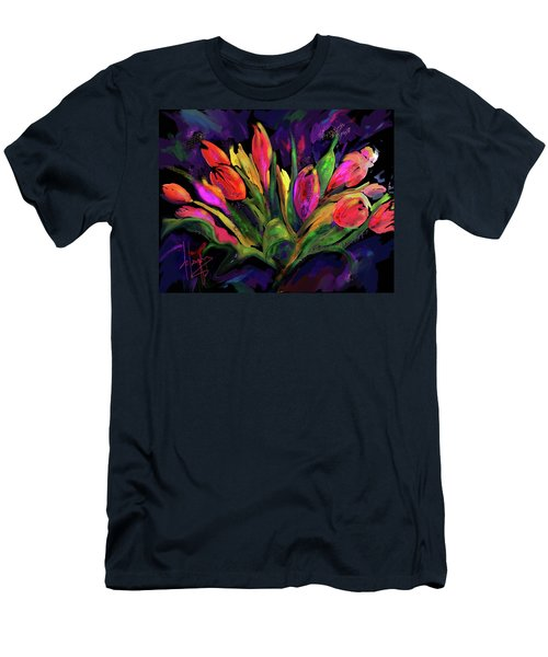 Tulips Men's T-Shirt (Athletic Fit)