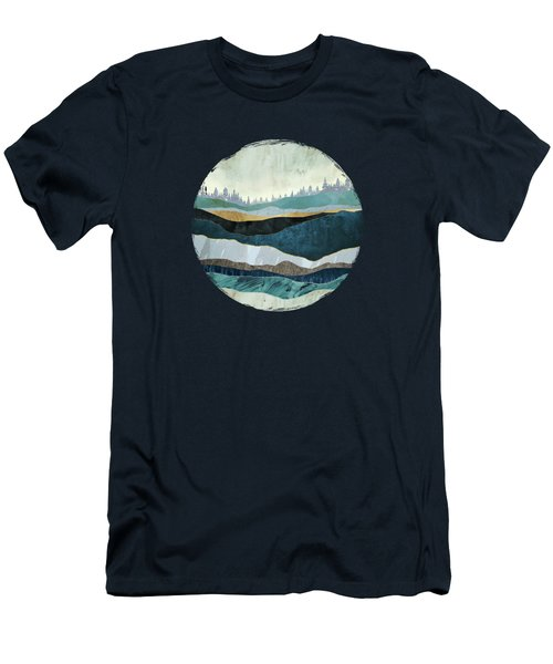 Turquoise Hills Men's T-Shirt (Athletic Fit)