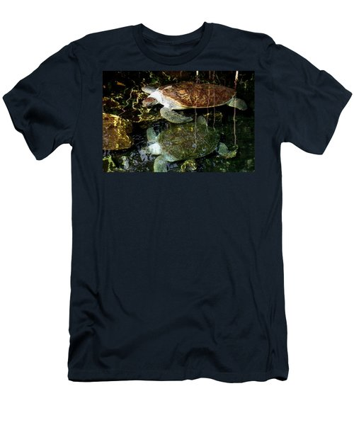 Turtles Men's T-Shirt (Slim Fit) by Angela Murray