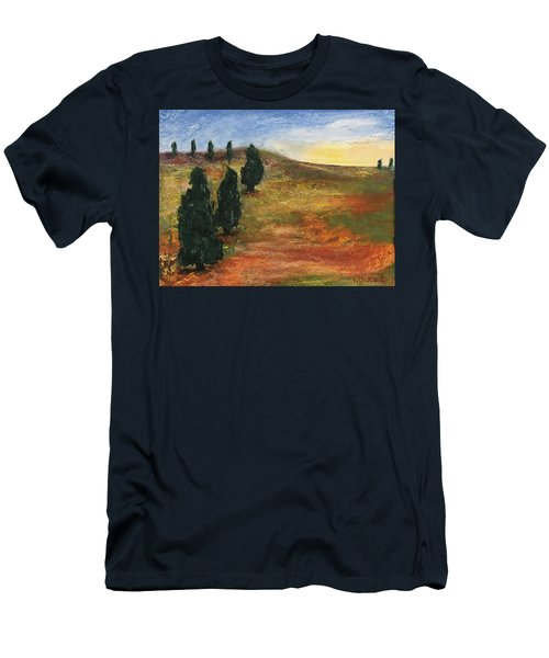 Tuscan Lights Men's T-Shirt (Athletic Fit)