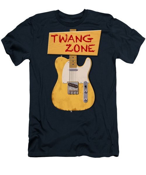 Twang Zone T-shirt Men's T-Shirt (Athletic Fit)