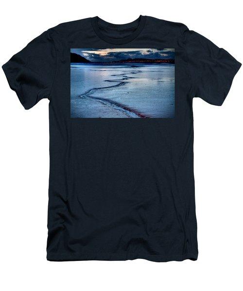 Twilight, Conwy Estuary Men's T-Shirt (Athletic Fit)