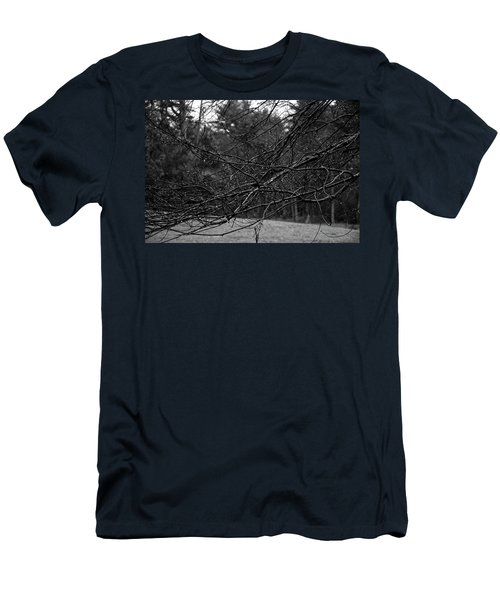 Men's T-Shirt (Athletic Fit) featuring the photograph Twisted And Wet by Angie Tirado