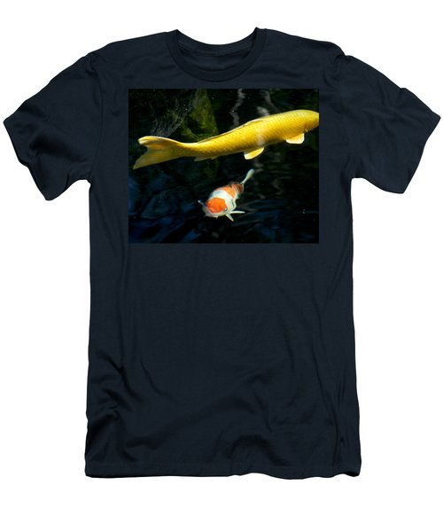 Men's T-Shirt (Slim Fit) featuring the photograph Two Fish by Christopher Woods