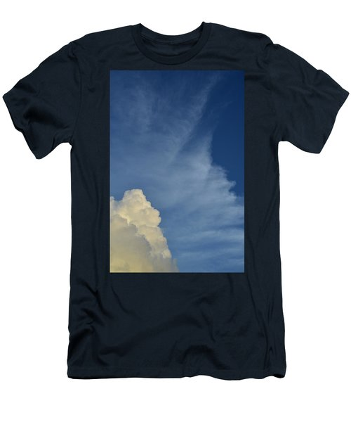 Two Tone Clouds 9384 Men's T-Shirt (Athletic Fit)