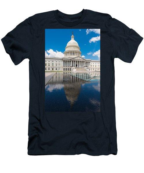 U S Capitol East Front Men's T-Shirt (Athletic Fit)