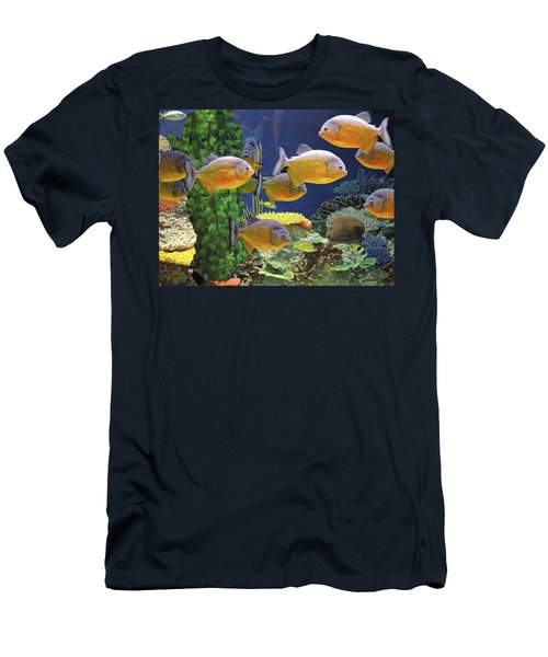 Under The Seen World 5 Men's T-Shirt (Athletic Fit)