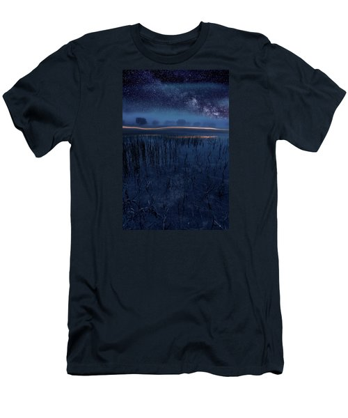 Under The Shadows Men's T-Shirt (Slim Fit) by Jorge Maia