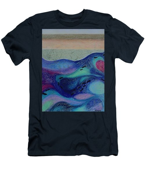 Undersea Movement Men's T-Shirt (Athletic Fit)