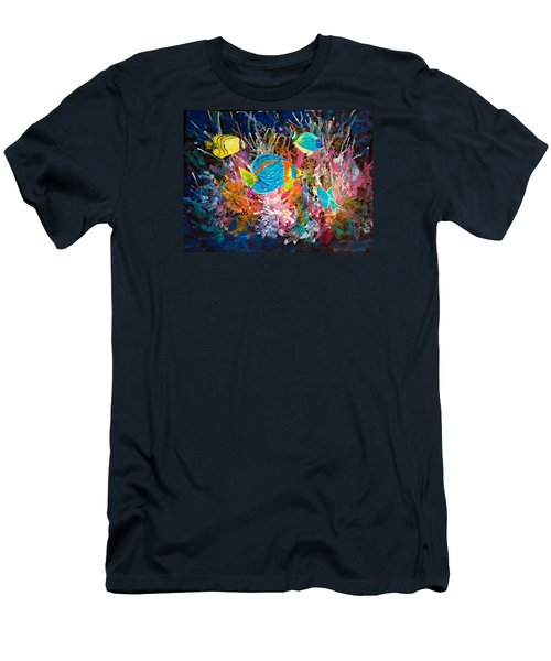 Underwater Sea Life Men's T-Shirt (Athletic Fit)