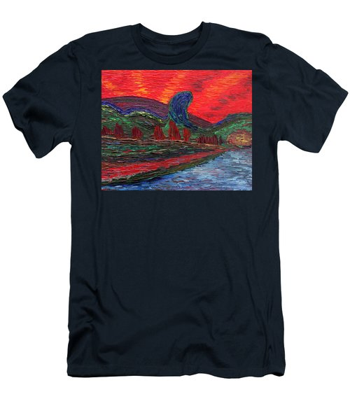 Undiscovered Great Ocean Of Truth Men's T-Shirt (Slim Fit) by Vadim Levin