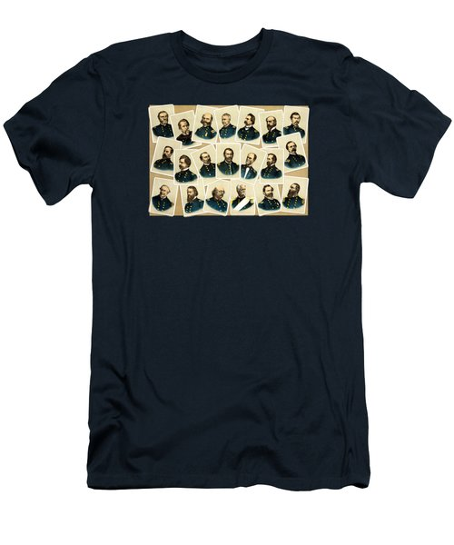Union Commanders Of The Civil War Men's T-Shirt (Athletic Fit)