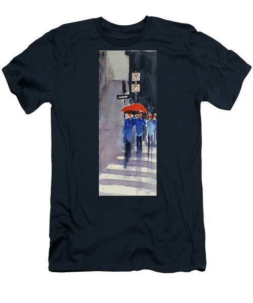 Union Square2 Men's T-Shirt (Slim Fit) by Tom Simmons
