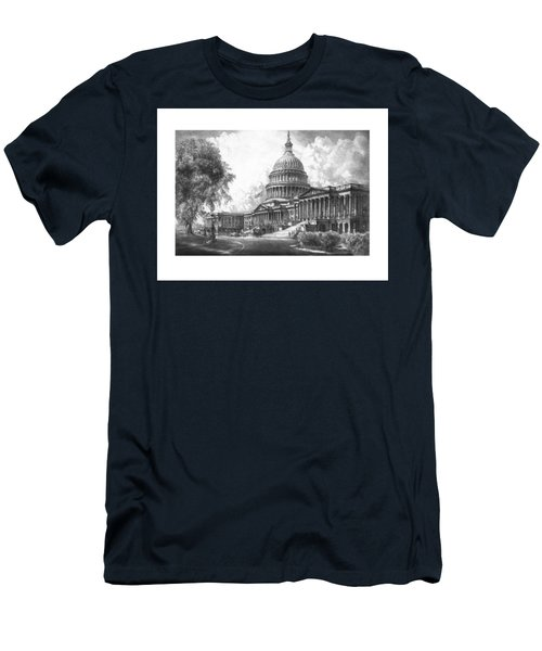 United States Capitol Building Men's T-Shirt (Athletic Fit)