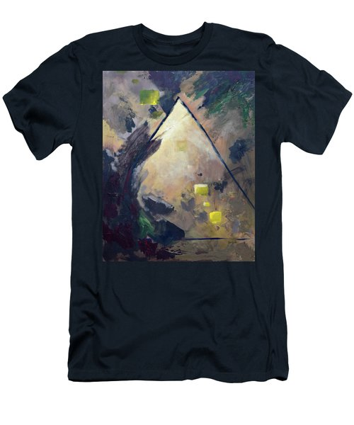 Untitled Abstract 730-17 Men's T-Shirt (Athletic Fit)