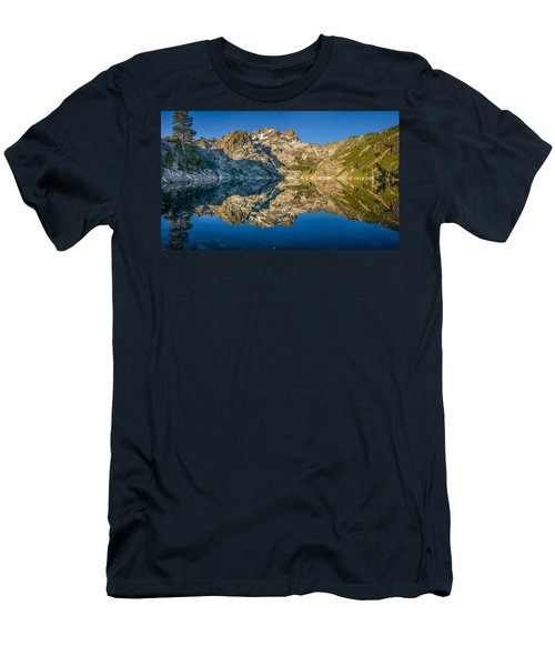 Upper Sardine Lake Panorama Men's T-Shirt (Athletic Fit)