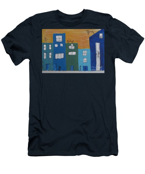 Uptown Fun Men's T-Shirt (Athletic Fit)