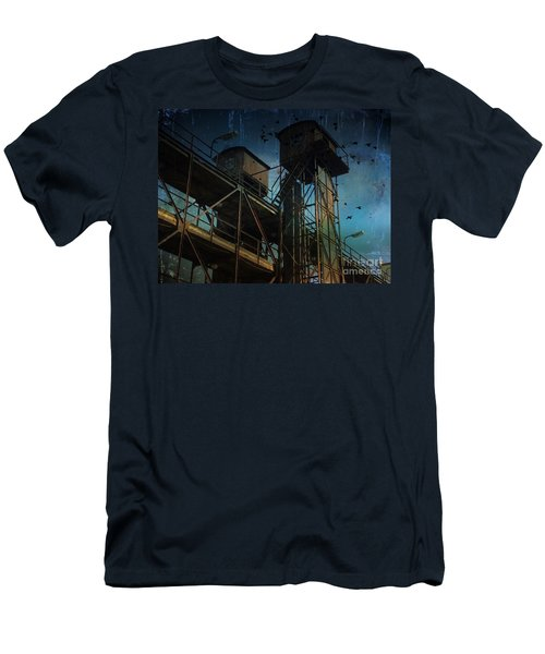 Men's T-Shirt (Athletic Fit) featuring the photograph Urban Past by Ivana Westin