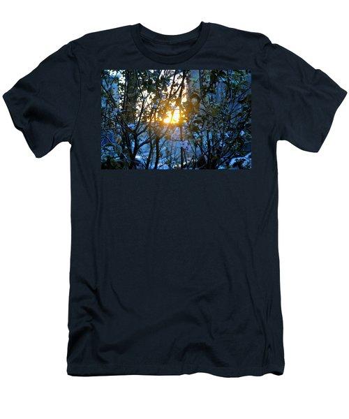 Urban Sunset Men's T-Shirt (Slim Fit) by Sarah McKoy
