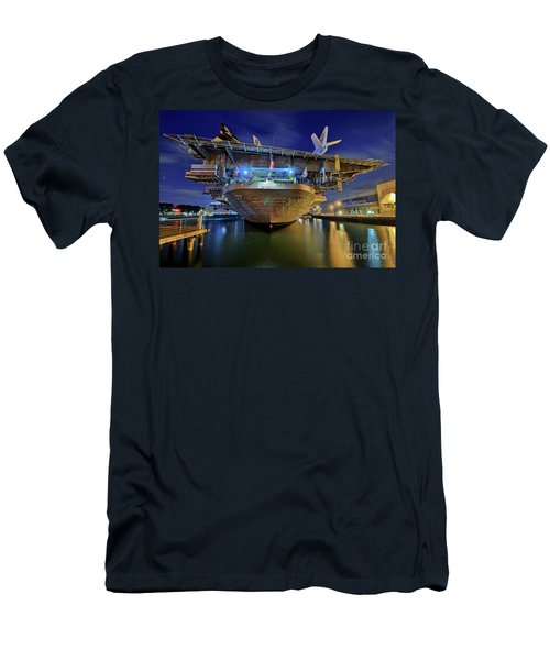 Uss Midway Aircraft Carrier  Men's T-Shirt (Athletic Fit)
