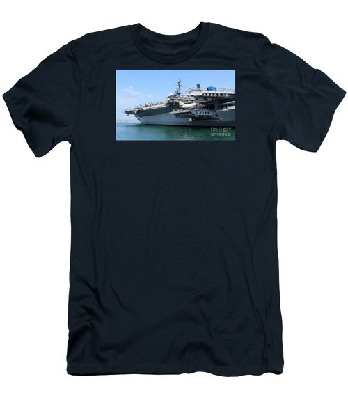 Uss Midway Carrier Men's T-Shirt (Athletic Fit)
