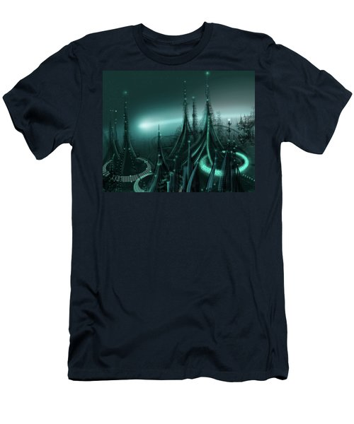 Utopia Men's T-Shirt (Slim Fit) by James Christopher Hill