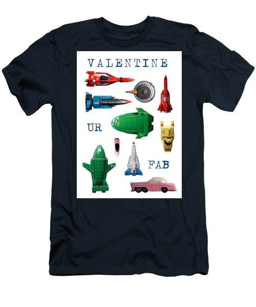 Valentine Ur Fab Men's T-Shirt (Athletic Fit)