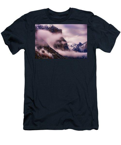 Valley Mood, Yosemite Men's T-Shirt (Slim Fit) by Vincent James
