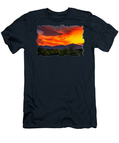 Valley Sunset H32 Men's T-Shirt (Athletic Fit)