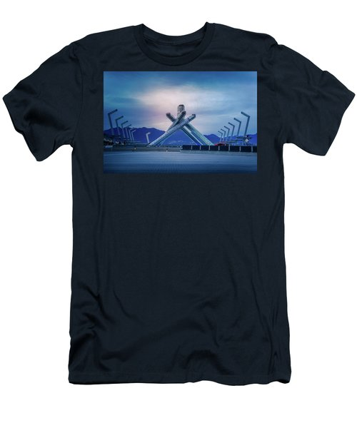 Vancouver 2010 Olympic Cauldron Men's T-Shirt (Athletic Fit)
