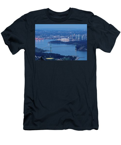Vancouver Harbour Late Afternoon Men's T-Shirt (Athletic Fit)
