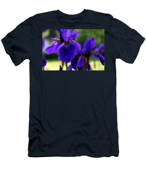 Men's T-Shirt (Athletic Fit) featuring the photograph Velvet And Silk by Hanne Lore Koehler
