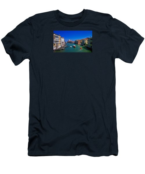 Men's T-Shirt (Athletic Fit) featuring the photograph Venetian Highway by Anne Kotan