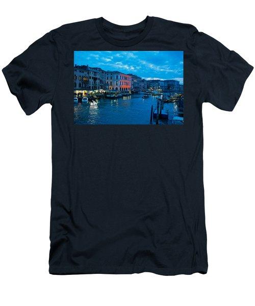 Men's T-Shirt (Slim Fit) featuring the photograph Venice Evening by Eric Tressler