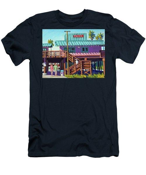 Ventura Pier - Tacos Men's T-Shirt (Athletic Fit)