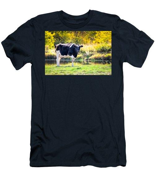 Vermont Farms.01 Men's T-Shirt (Slim Fit) by Craig Szymanski