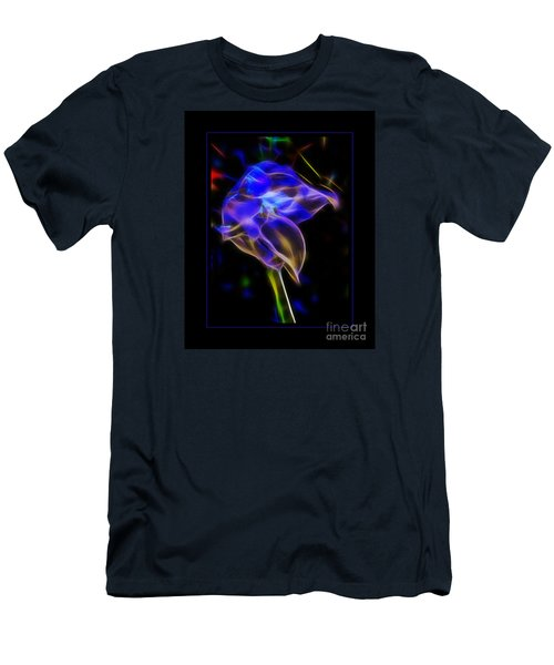 Men's T-Shirt (Slim Fit) featuring the photograph Vibrant Orchid by Darleen Stry