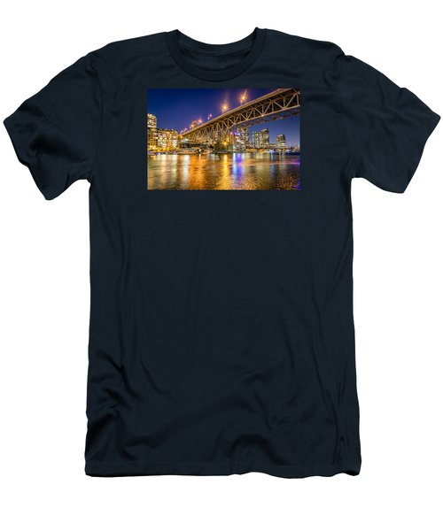 View At Granville Bridge Men's T-Shirt (Athletic Fit)
